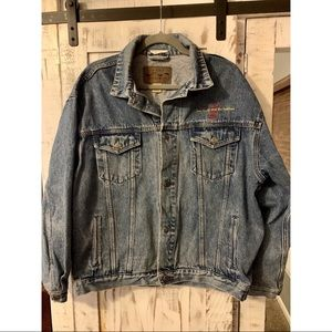 Young and the Restless Jean Jacket Sz L
